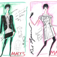 VIDEO: Karl Lagerfeld for Macy's launches
