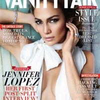 Jennifer Lopez on the September cover of Vanity Fair