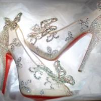 Christian Louboutin Cinderella Slipper