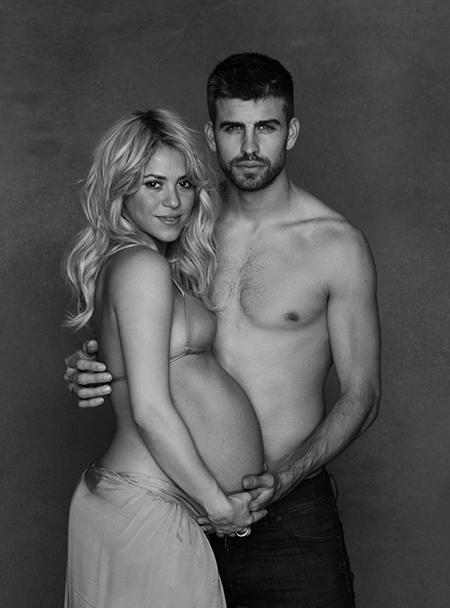 Shakira-Pregnant-para-todos-magazine-2013-Milan-Piqué-Mebarak
