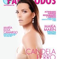 Candela Ferro graces the cover of Para Todos' February 2014 edition