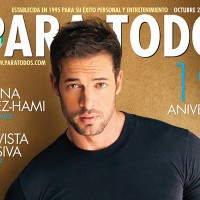 William Levy on the October 2014 19th anniversary cover of Para Todos