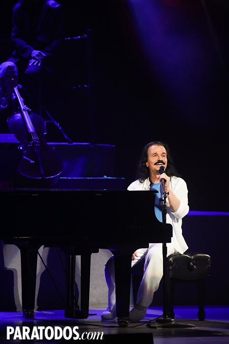 Yanni brings his legendary Live at the Acropolis to