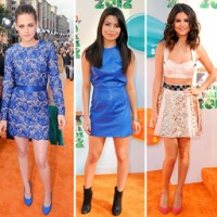 La moda de los Kids Choice Awards 2012