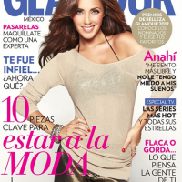 Anahí en la portada de Glamour Mexico