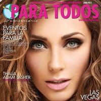 Anahí en la portada de Para Todos - Julio 2015