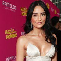Mejor vestida: Aislinn Derbez luce un vestido por Maria Lucia Hohan en el estreno en Hollywood de 'Hazlo Como Hombre'