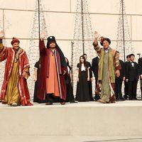 Los Reyes Magos llegaron a Segerstrom en Orange County