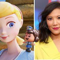 Ally Maki nos habla sobre su personaje de Giggle McDimples en Toy Story 4